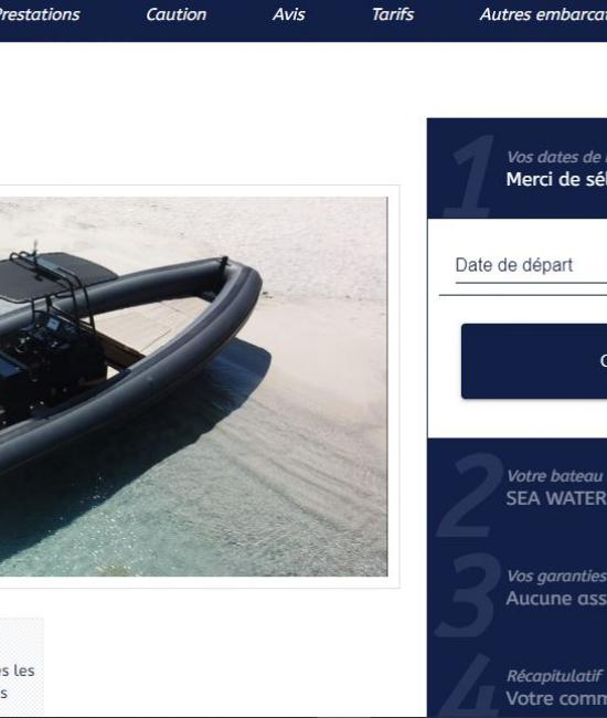 Booking boat for rent online !